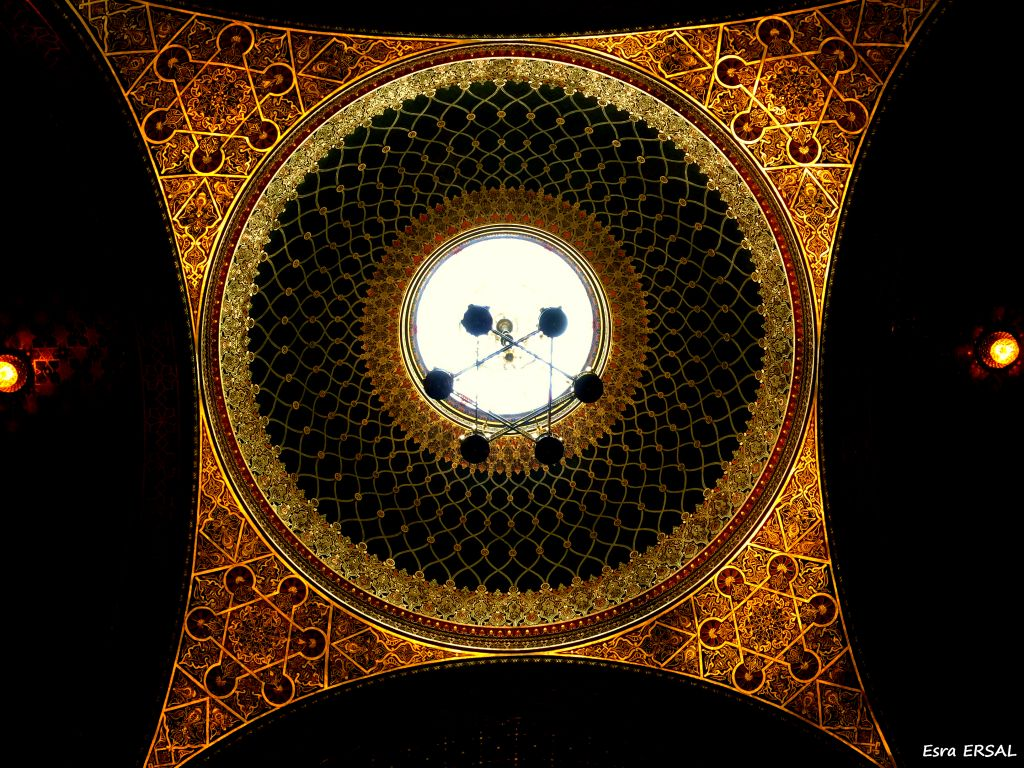 ispanyol-sinagogu-tavan