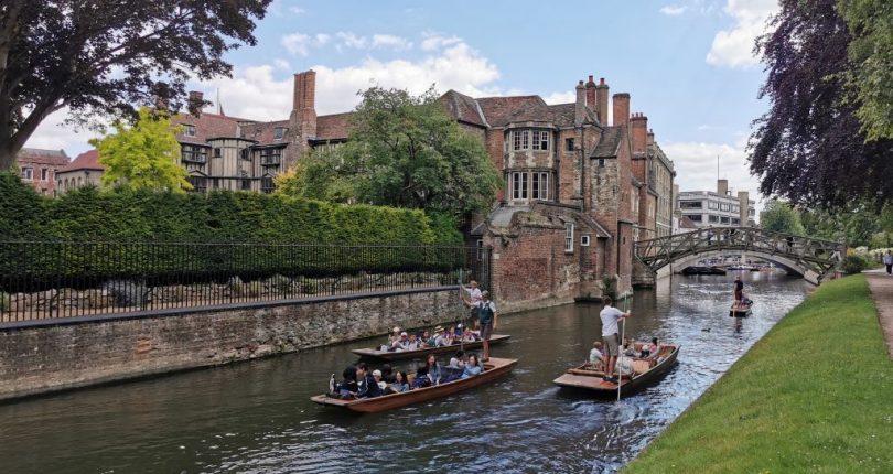 Cambridge Gezilecek Yerler