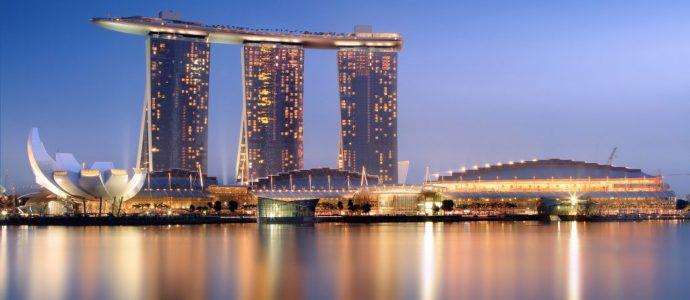 Gerçek Olamayacak Kadar Güzel: Marina Sands Bay Hotel, Singapur