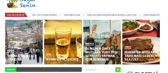 Gezginlerin yeni yol arkadaşı Hayatsenin.com