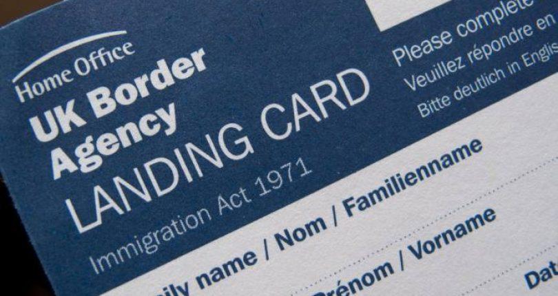 İngiltere'ye Girişte Landıng Card Nasıl Doldurulur?