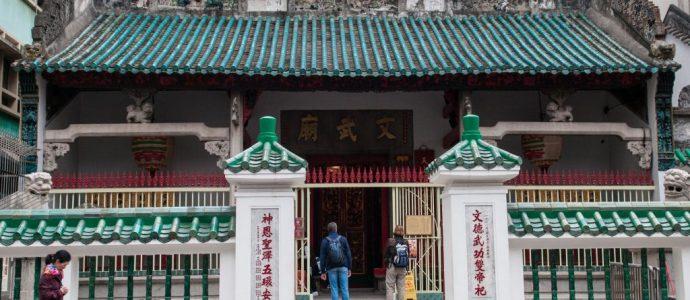Man Mo Tapınağı ve Cat Street – Hong Kong